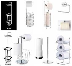 Free Standing Toilet Paper Holder With Storage Home Design Standing Chrome Magazine Rack Toilet Paper Tissue