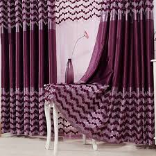 Thick Purple Curtains Luxury Curtains Drapes For Living Room Set Bedroom Housing Family