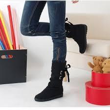 womens boots mid calf aliexpress com buy fashion autumn winter boots