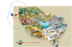 Universal Orlando Map by Rio Land Universal Studios Theme Park Fanon Wiki Fandom