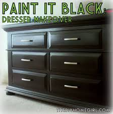 craftionary refinished dresser and mirror apartment living