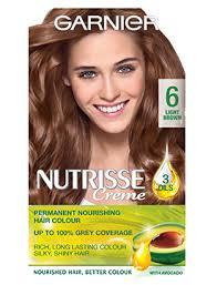 Hair Color Light Brown 6 Light Brown Hair Colour Nutrisse Garnier
