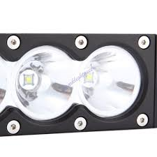 Led Flood Light Bars by 6 30w Cree 3led 10w Driving Work Light Bar Clear Lens White