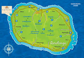 where is cook islands located on the world map location sunset resort
