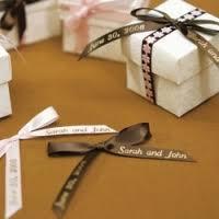 favor ribbons custom imprinted ribbon personalized favor ribbons wedding