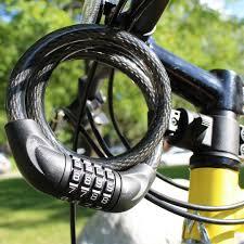 best bike lock combination bike lock best combination cable lock firegear rocks