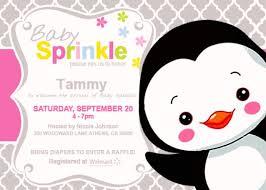penguin baby shower penguin baby shower invitations 4 jen s penguin baby shower