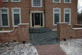 Inexpensive Home Decor Stores by Exteriors Awesome Red Front Door Design With Brick Stone Wall