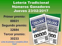 Los N 250 Meros Para Las Mejores Loter 237 As Gana En La Loter 237 A - loteria tradicional sorteo 087 jueves 23 febrero 2017 loterias