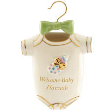 welcome baby ornament by lenox baby