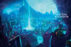 Wow Kalimdor Map Map Of Azeroth Before The Well Of Eternity Was Destroyed Wow