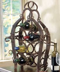 25 unique horseshoe wine rack ideas on pinterest horseshoe