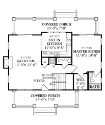 Eat In Kitchen Floor Plans Craftsman Style House Plan 3 Beds 2 50 Baths 1505 Sq Ft Plan 456 5