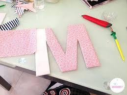 lettres décoratives chambre bébé diya une dacco pracnom pour la chambre de votre enfant racalisace