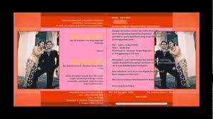 template undangan format cdr contoh desain undangan format cdr youtube