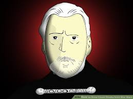 how to draw count dooku from star wars 8 steps with pictures