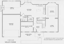 villa building floor plans