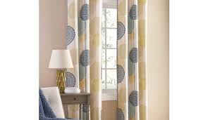 accolade drapery tags turquoise and orange curtains navy and