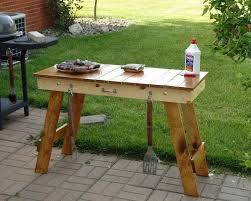 diy grill table plans bbq side table plans woodwork ideas pinterest table plans and