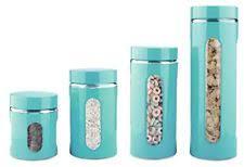 clear glass kitchen canister sets glass kitchen canister sets ebay