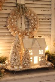 Beautifully Decorated Homes For Christmas 142 Best Small Or Unique Holiday Villages Images On Pinterest