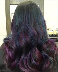 pink highlighted hair over 50 20 blue and purple hair ideas