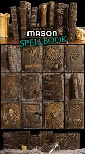 halloween textures a mason says what make it with mason spell books holidays