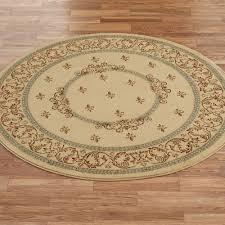 Yellow Round Area Rugs Monarch Medallion Round Area Rugs