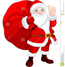 santa claus picture santa claus with a bag stock vector illustration of smiling
