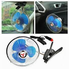 6 inch oscillating fan 6 inch 12v portable vehicle auto car trunk oscillating fan