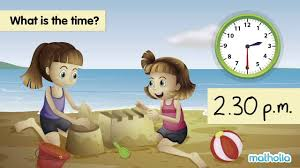 telling time a m and p m youtube