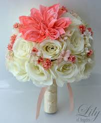 silk flower silk flower wedding bouquet silk wedding arrangements artificial