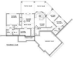 craftsman floor plan craftsman inspired ranch home plan 15883ge architectural designs