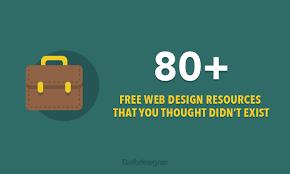 free web designer 80 free web design resources you should be bookmarking