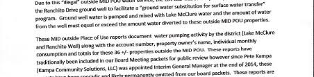 certified mail mid foia request update lakedonpedro org