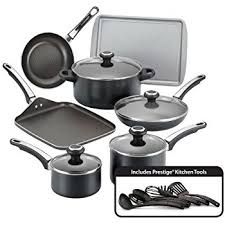 kitchen tools black friday amazon amazon com farberware classic stainless steel 17 piece cookware