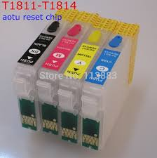 chip resetter epson xp 305 t1811 refillable ink cartridge auto reset chip for epson xp30 xp102