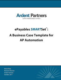 epayables smartset a business case template for ap automation