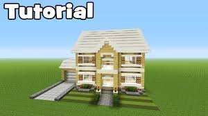 minecraft tutorial how to make a realistic suburban family house