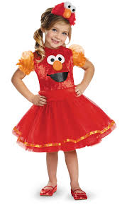 toddler girls halloween costume sesame street elmo tutu deluxe toddler halloween costume walmart com