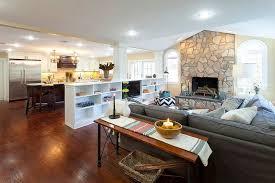 Split Level Basement Ideas - kitchen split level homes polka dot designs decking material