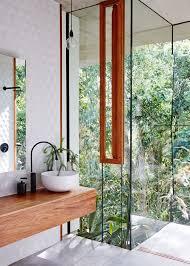 Outdoor Bathrooms Australia Best 25 Glass Bathroom Ideas On Pinterest Modern Bathrooms