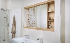 bathroom mirror cabinet utopia 1200mm sliding mirror cabinet