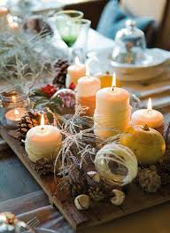 candle centerpieces ideas diy christmas candle centerpieces 40 ideas for your table