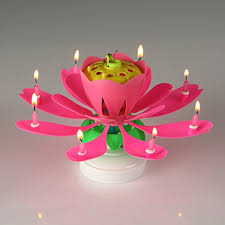 amazing birthday candle amazing birthday candle flower cool singing musical candles