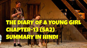 class 10 english the diary of a young chapter 13 sa2 youtube