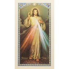 the chaplet of the mercy prayer card the catholic company