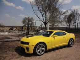 yellow camaro zl1 580 horsepower zl1 based on cts v most powerful camaro