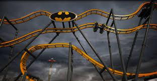 Six Flags Fear Fest The New Batman Ride At Six Flags Fiesta Texas Looks Like The Most