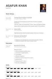 resume templates for undergraduate students 26 best best